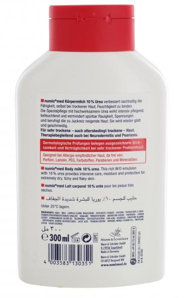 Numis med Urea Körpermilch mit 10% Urea