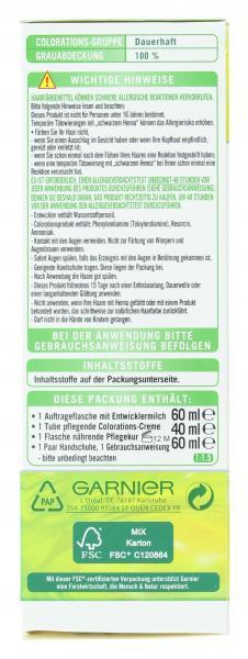 Garnier Nutrisse Creme Pflege-Haarfarbe 43 cappuccino goldbraun