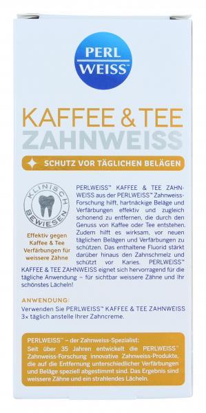 Perlweiss Kaffee & Tee-Zahnweiss