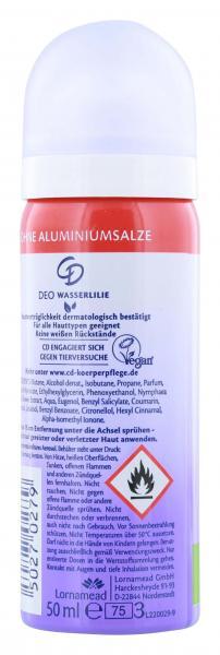 CD Deo Spray Wasserlilie