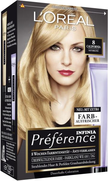 L'Oréal Préférence Récital 8 naturblond