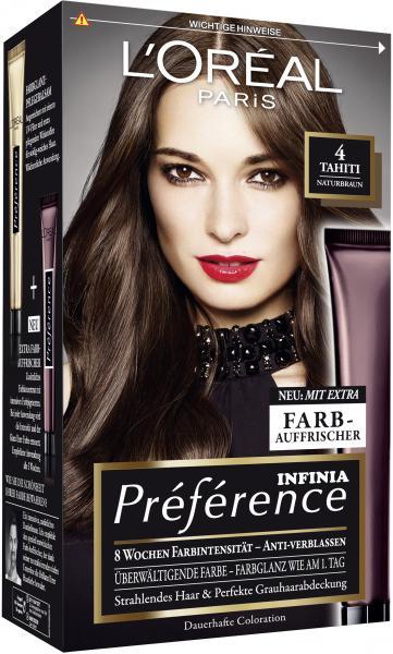 L'Oréal Préférence Récital 4 naturbraun