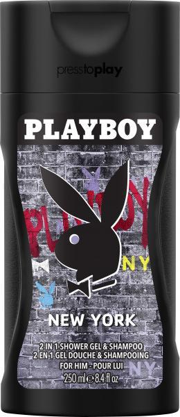 Playboy New York Shower Gel & Shampoo