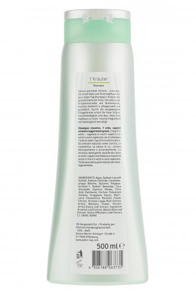Jeden Tag Classic 7-Kräuter Shampoo