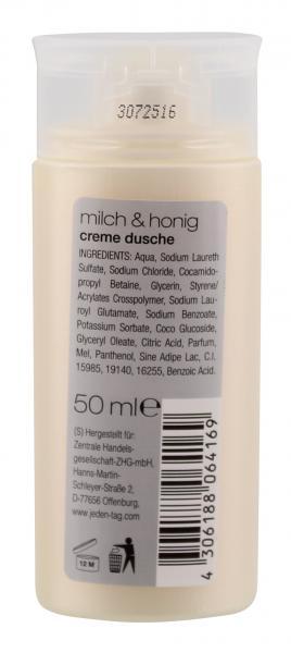 Jeden Tag Creme Dusche Milch & Honig