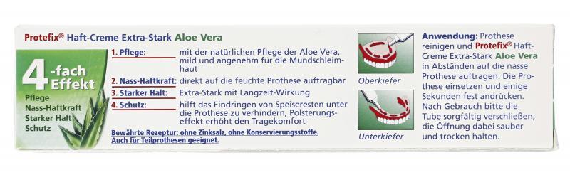 Protefix Haft-Creme mit Aloe Vera