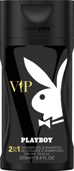 Playboy VIP Shower Gel & Shampoo