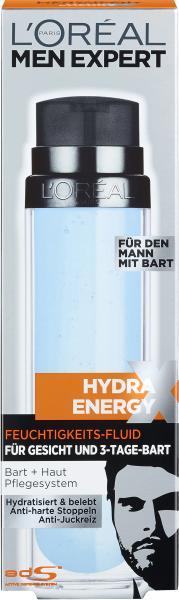 L'Oréal Men Expert Hydra Energy Fluid für den Bart