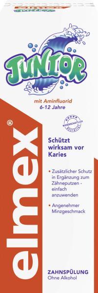 Elmex Junior Zahnspülung ohne Alkohol