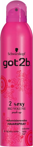 Schwarzkopf got2b 2 Sexy Big Volume Push Up Haarspray