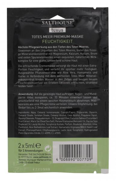 Salthouse Luxus Totes Meer Premium-Maske Feuchtigkeit