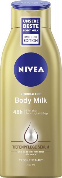 Nivea Reichhaltige Body Milk mit Mandelöl