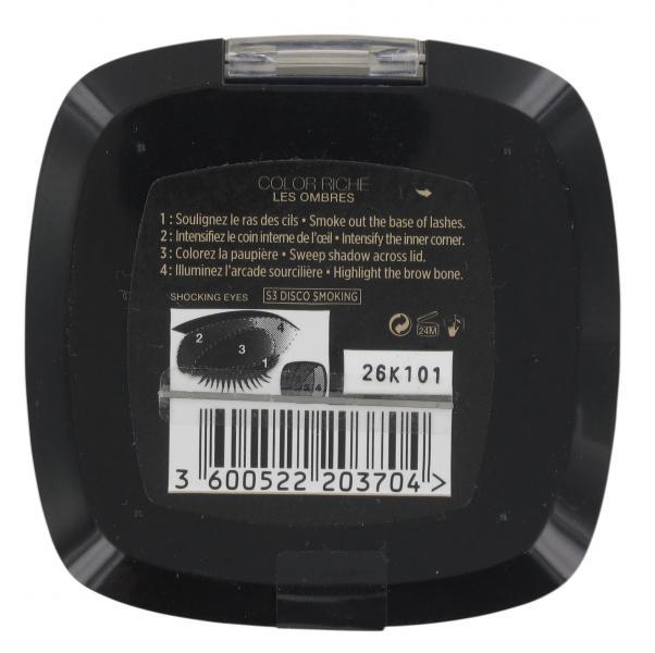 L'Oréal Color Riche Quad Lidschatten S3 disco smoking