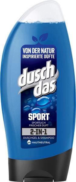 Duschdas 2in1 Sport Duschgel & Shampoo mit Allantoin