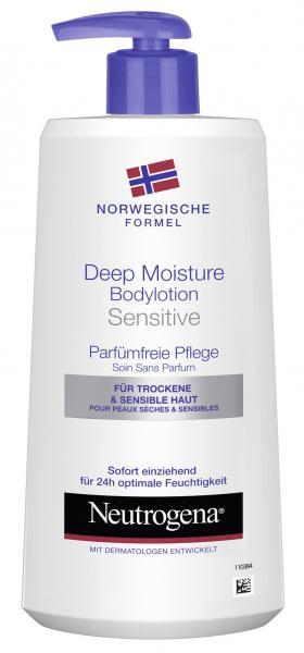 Neutrogena Deep Moisture Bodylotion sensitive