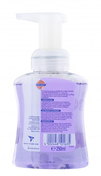 Sagrotan Samt-Schaum Handwaschschaum Cremige Vanille & Orchidee