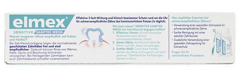 Elmex Sensitive sanftes Weiss