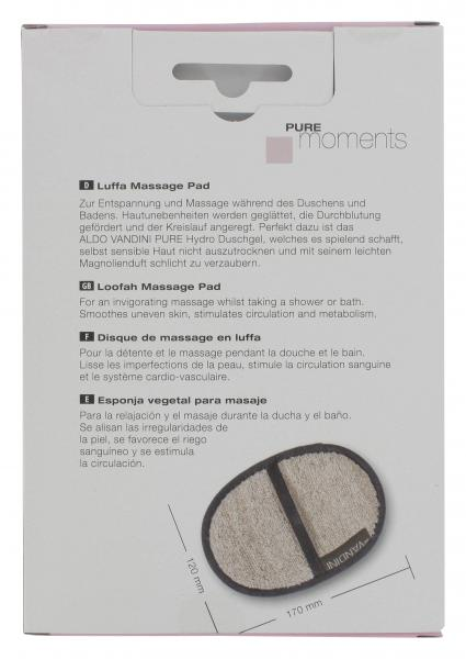 Aldo Vandini Pure Moments Luffa Massagepad