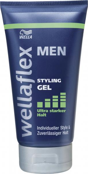 Wella Wellaflex Men Styling Gel ultra starker Halt
