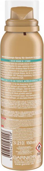 Garnier Ambre Solaire Natural Bronzer Selbstbräunungs-Spray
