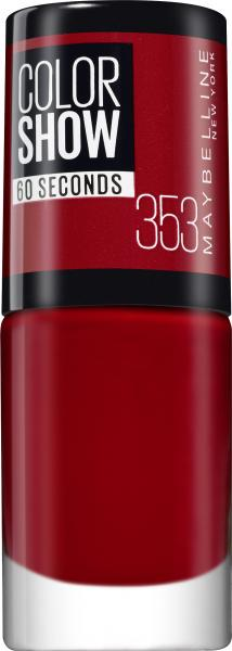 Maybelline New York Colorshow Nagellack 353 red
