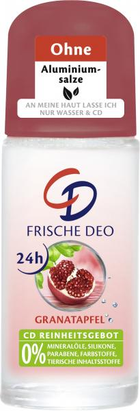 CD Frische Deo Roll-On Granatapfel