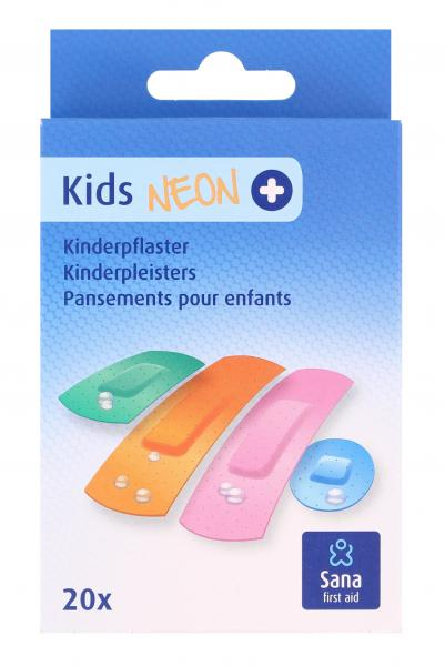 Sana first aid Kids Neon Kinderpflaster