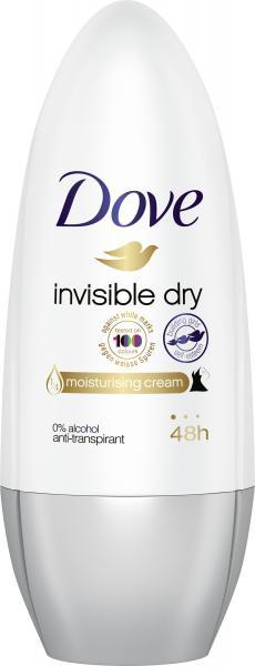 Dove Invisible Dry Anti-Perspirant/Anti-Transpirant Deodorant Roll-On