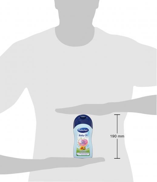 Bübchen Babypflege Baby Öl  für geschmeidige Haut, Flasche