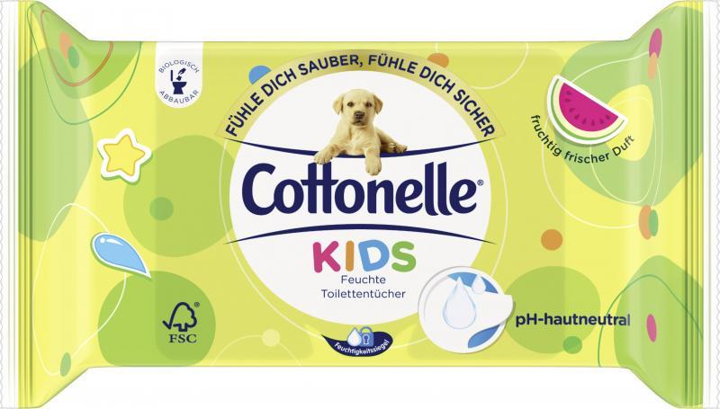 Cottonelle Kids Feuchte Toilettentücher