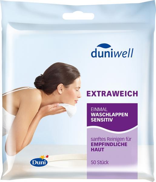 Duniwell Einmal-Waschlappen sensitiv