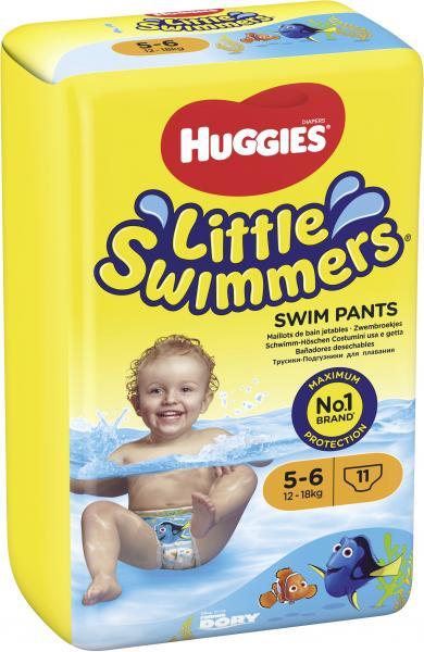 Huggies Little Swimmers Schwimmhöschen Gr. 5-6 Maxi 12-18 kg