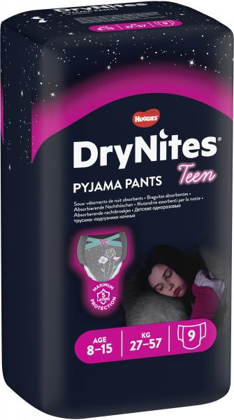 Huggies DryNites Teen Pyjama Pants Girl 27-57kg