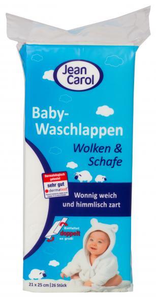 Jean Carol Wonnig Weichen Baby Waschlappen
