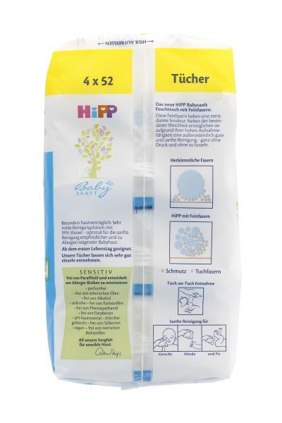 Hipp Babysanft ultra sensitiv Feuchttücher