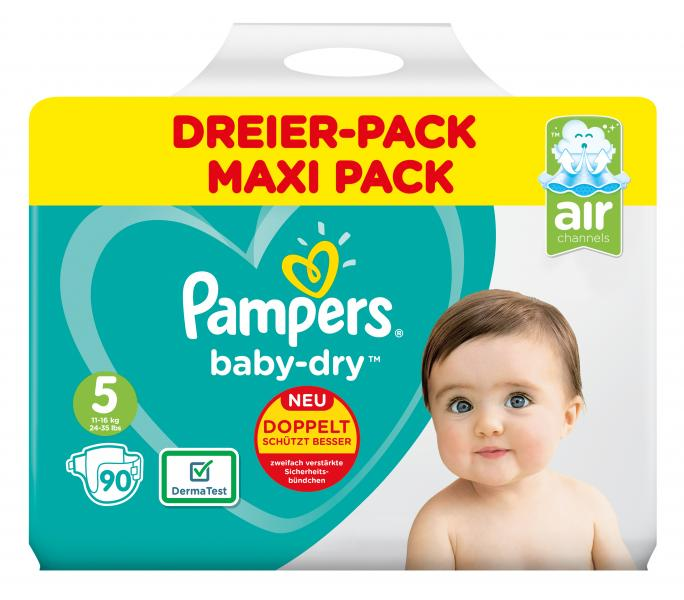 Pampers Baby-Dry Gr. 5 Junior 11-16 kg