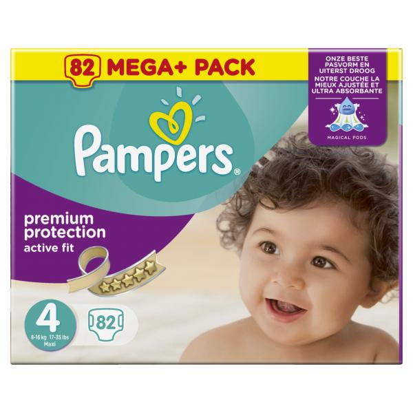 Pampers Premium Protection Active Fit Windeln Gr. 4 Maxi 8-16kg