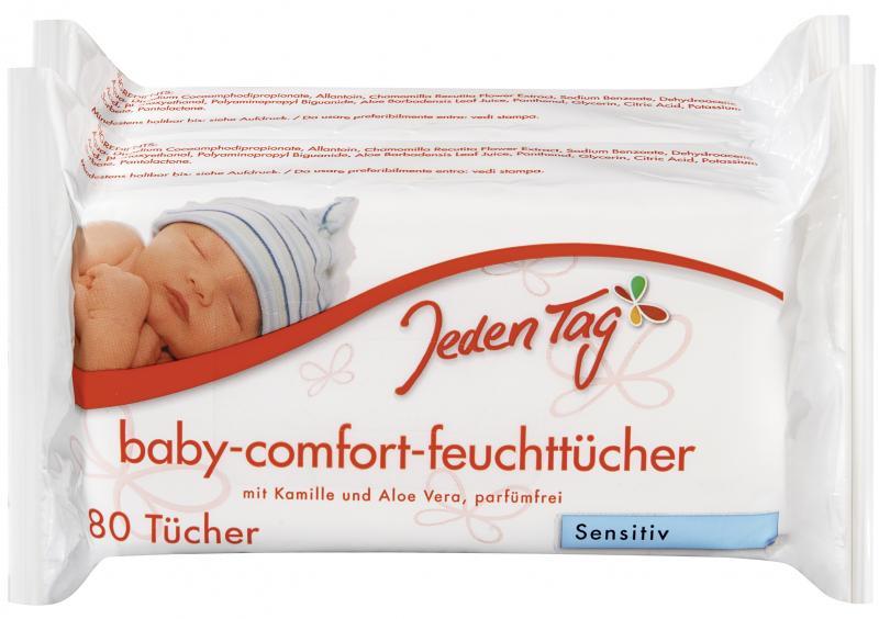 Jeden Tag Baby Comfort Feuchttücher sensitive