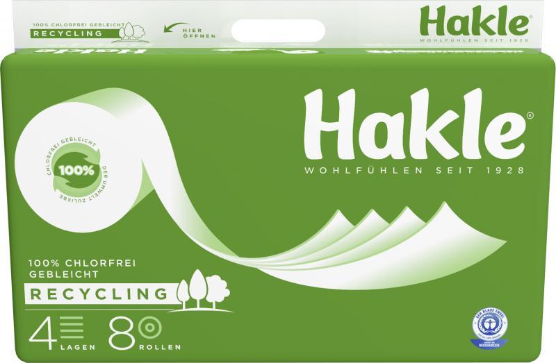 Hakle Natur Toilettenpapier 4-lagig