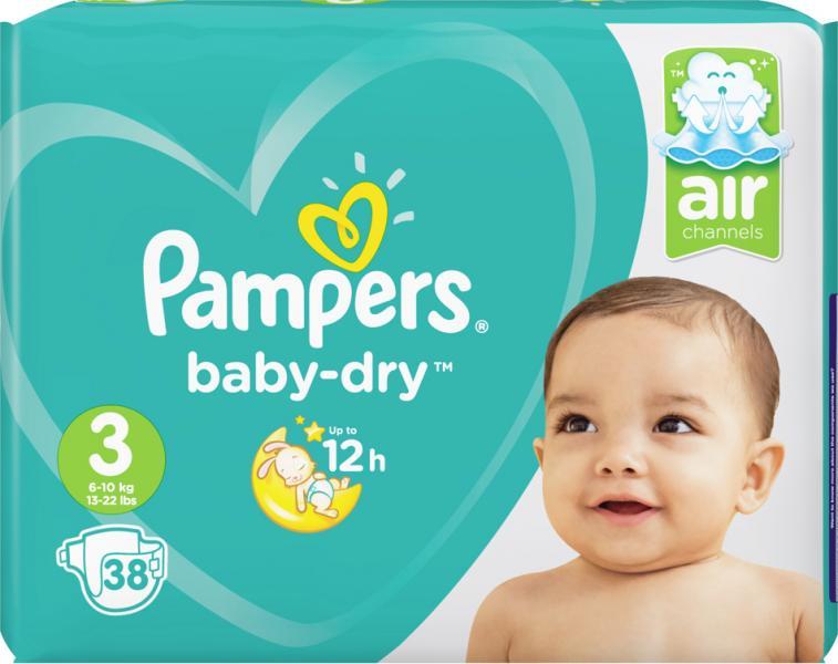 Pampers Baby-Dry Gr. 3 Midi 6-10 kg