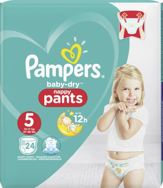 Pampers Baby Dry Pants Gr. 5 Junior 12-17 kg