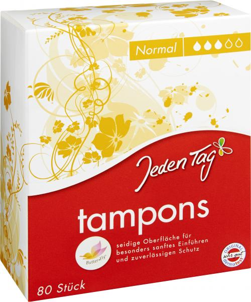 Jeden Tag Tampons Normal