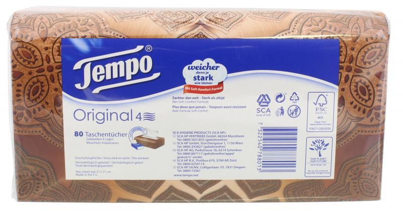 Tempo Original Taschentücher Super Pack