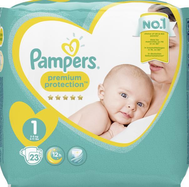 Pampers Premium Protection Gr. 1 newborn 2-5 kg