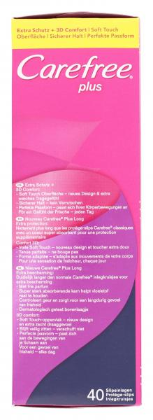 Carefree plus Slipeinlagen long mit Frischeduft