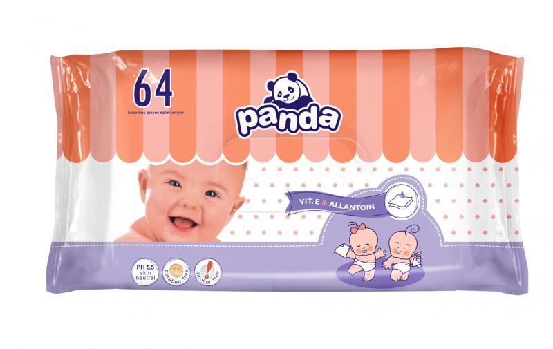 Panda Baby Feuchttücher