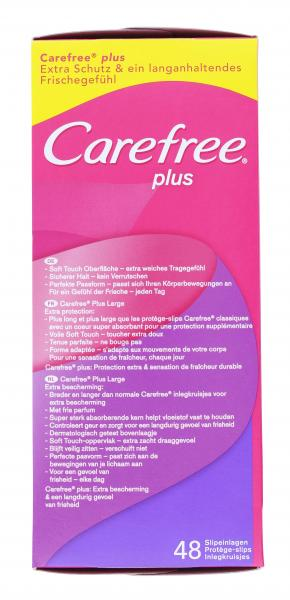 Carefree plus Slipeinlagen Large Frischeduft