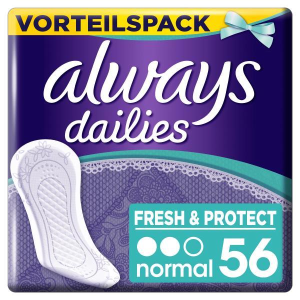 Always Slipeinlagen Fresh & Protect Normal