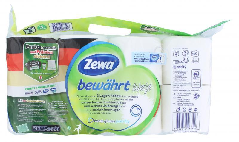 Zewa Toilettenpapier bewährt