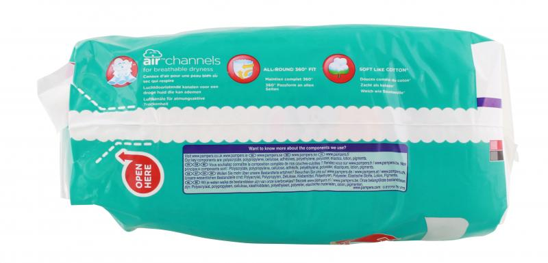 Pampers Baby Dry Nappy Pants Gr. 3 Midi 6-11 kg